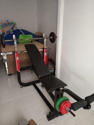 Máquinas de pesas para musculacion