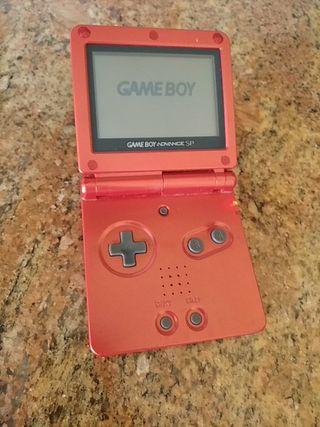 Game Boy Edición Rojo Fuego