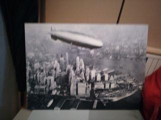 Cuadro litografia vintage