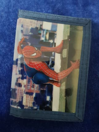 cartera spiderman