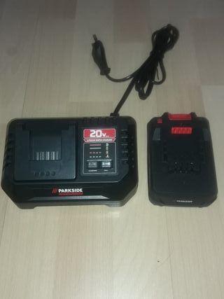 batería y cargador Parkside performance