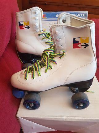 patines 4 ruedas skatepro talla 39