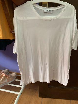 Camisa blanca básica Zara