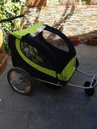 carrito de niños para bici