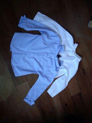 Lote dos camisas niña Zara talla 6
