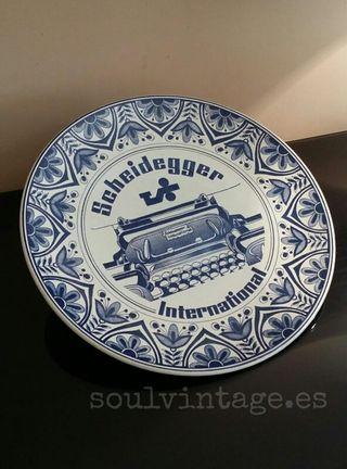 Plato cerámica Delfts