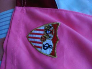 Equipación niña del Sevilla