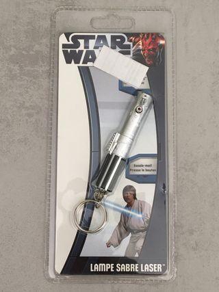 Llavero puntero láser de Star Wars
