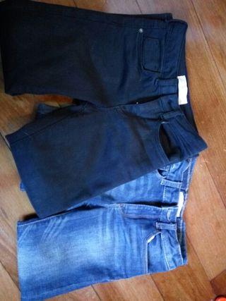 Pack 2 pantalones niña Zara t6