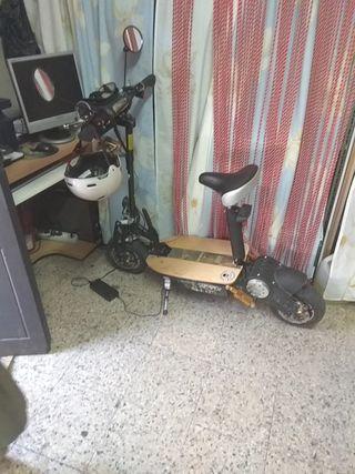 patin eléctrico 2300w estampida