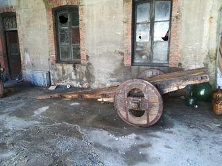 carro de buey antiguo