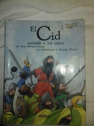 libros el Cid, el Quijote