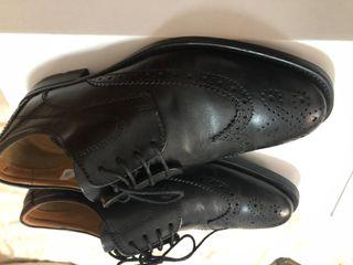 5a2389d6 Zapatos de vestir de hombre Dustin en piel, negro