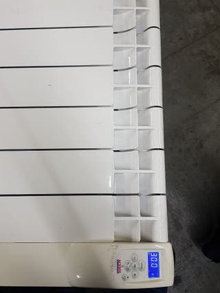radiador calor zul