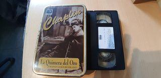 Cinta VhS charly Chaplin.