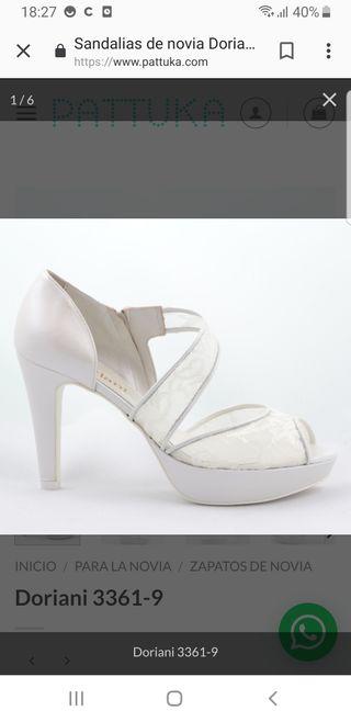 cd76561d Zapatos de novia de segunda mano en la provincia de Girona en WALLAPOP