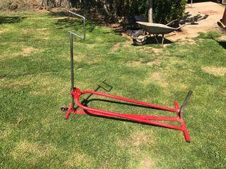 Elevador para tractor cortacésped