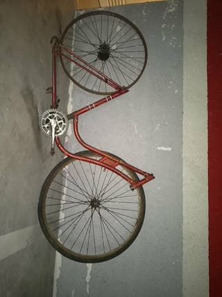 bicicleta antigua de varillas vintage
