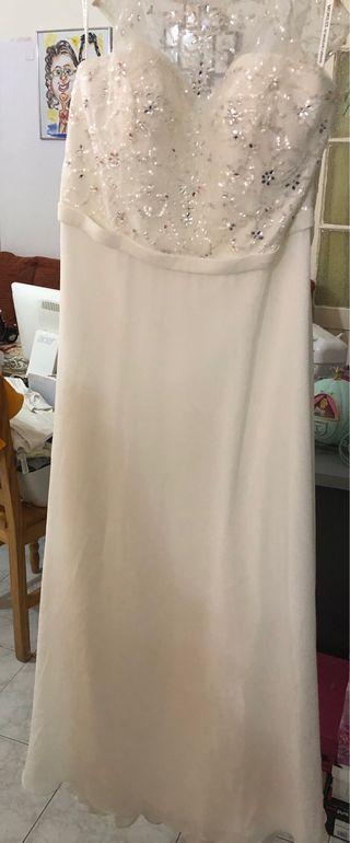 Vestido de novia talla 48