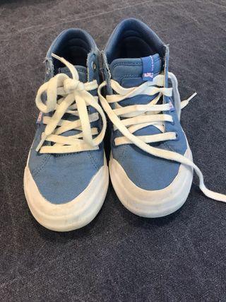 Botines azules dc shoes