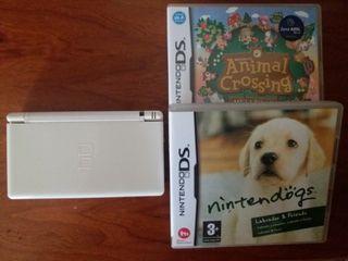 Nintendo DS Lite + 2 juegos