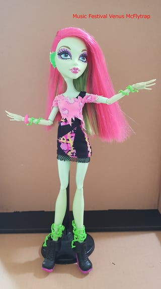 Venus McFlytrap Music Festival - Monster High