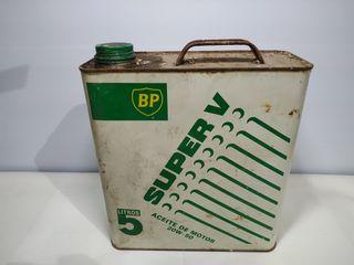 Lata antigua aceite BP