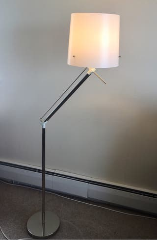 IKEA SAMTID floor lamp