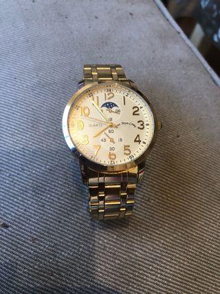 Reloj Eve Mon Crois nuevo,chapado oro