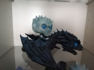 Night king and Icy Viserion | Game of Thrones