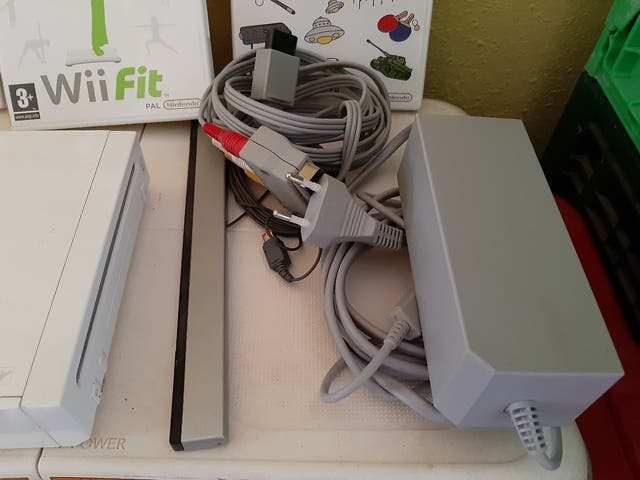 consola wii + wii fit