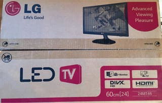 LG TV Monitor 60cm/24inches (Model 24MT46D)