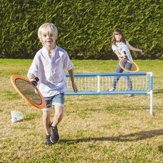 Set deporte infantil: badminton,volleyball y tenis