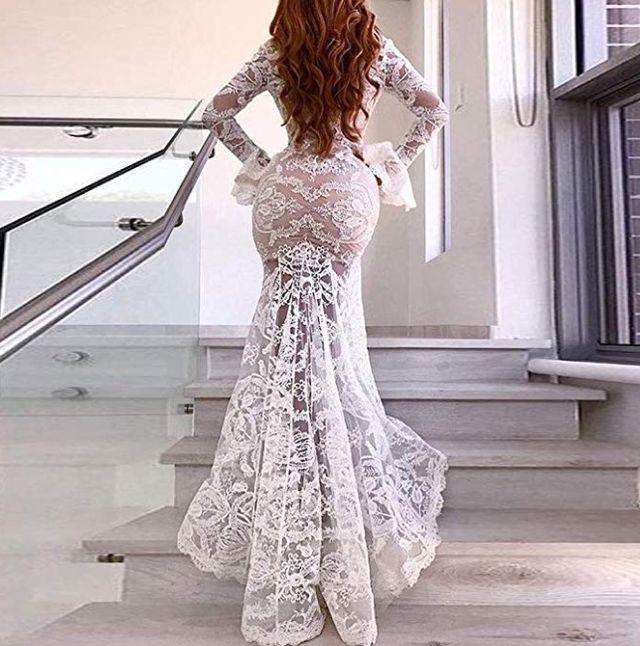 vestido encaje talla s
