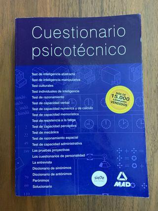 Cuestionario Psicotécnico