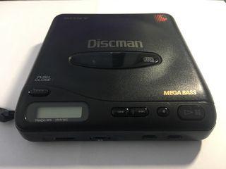 Sony Discman reproductor CD vintage