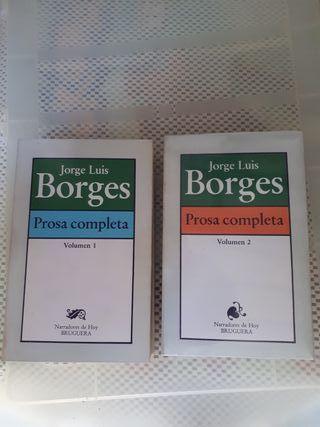 Prosa completa 2 volumenes - BORGES, JORGE LUIS