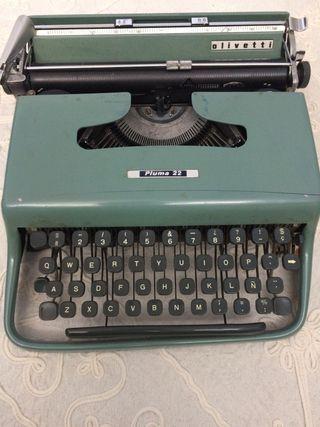 Maquinas escribir antiguas Olivetti
