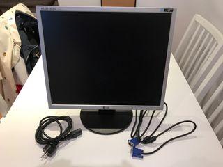 Monitor ordenador LCD pantalla plana 19 pulgadas