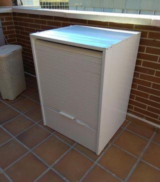 armario lavadora exterior o jardin
