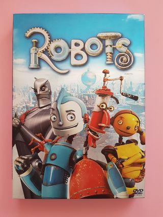 Pelicula Infantil Robots