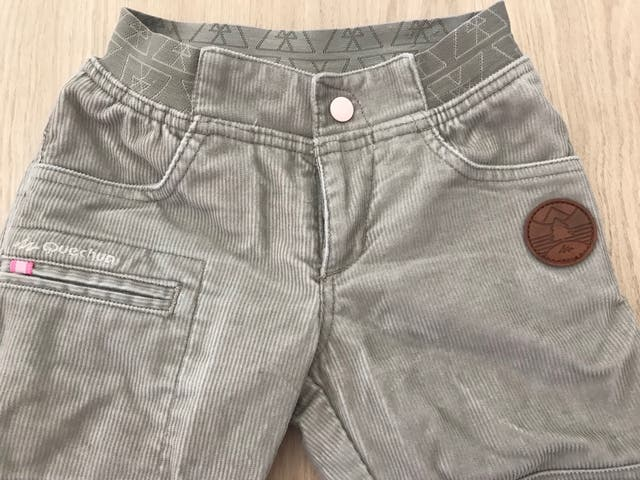 Pantalón pana niña 1-2 años