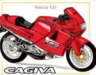 CAGIVA FRECCIA C12 5P 125cc 1989