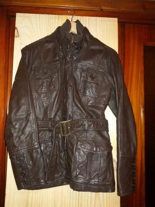 chaqueta cuero