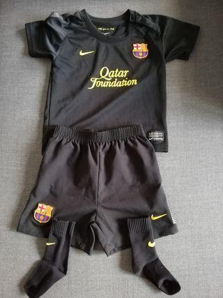 conjunto bebé del fc barcelona