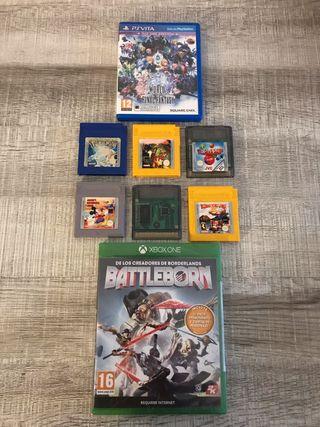 videojuegos game boy ps vita xbox one