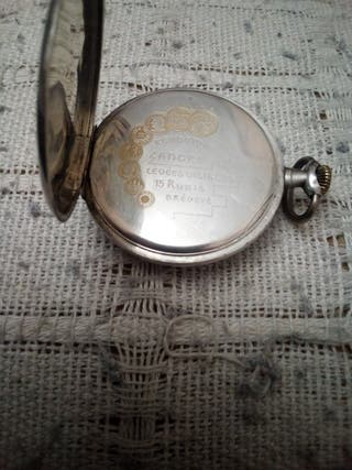 ebe406f8573a Reloj de plata antiguo de segunda mano en Madrid en WALLAPOP