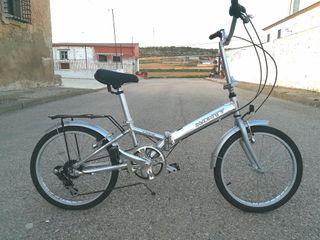 Bici Plegable Monty Logik