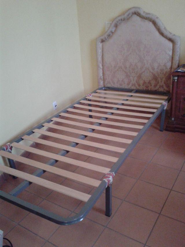 Cama individual de 2 metros x 90 cm