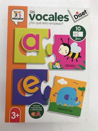 Puzzle Vocales